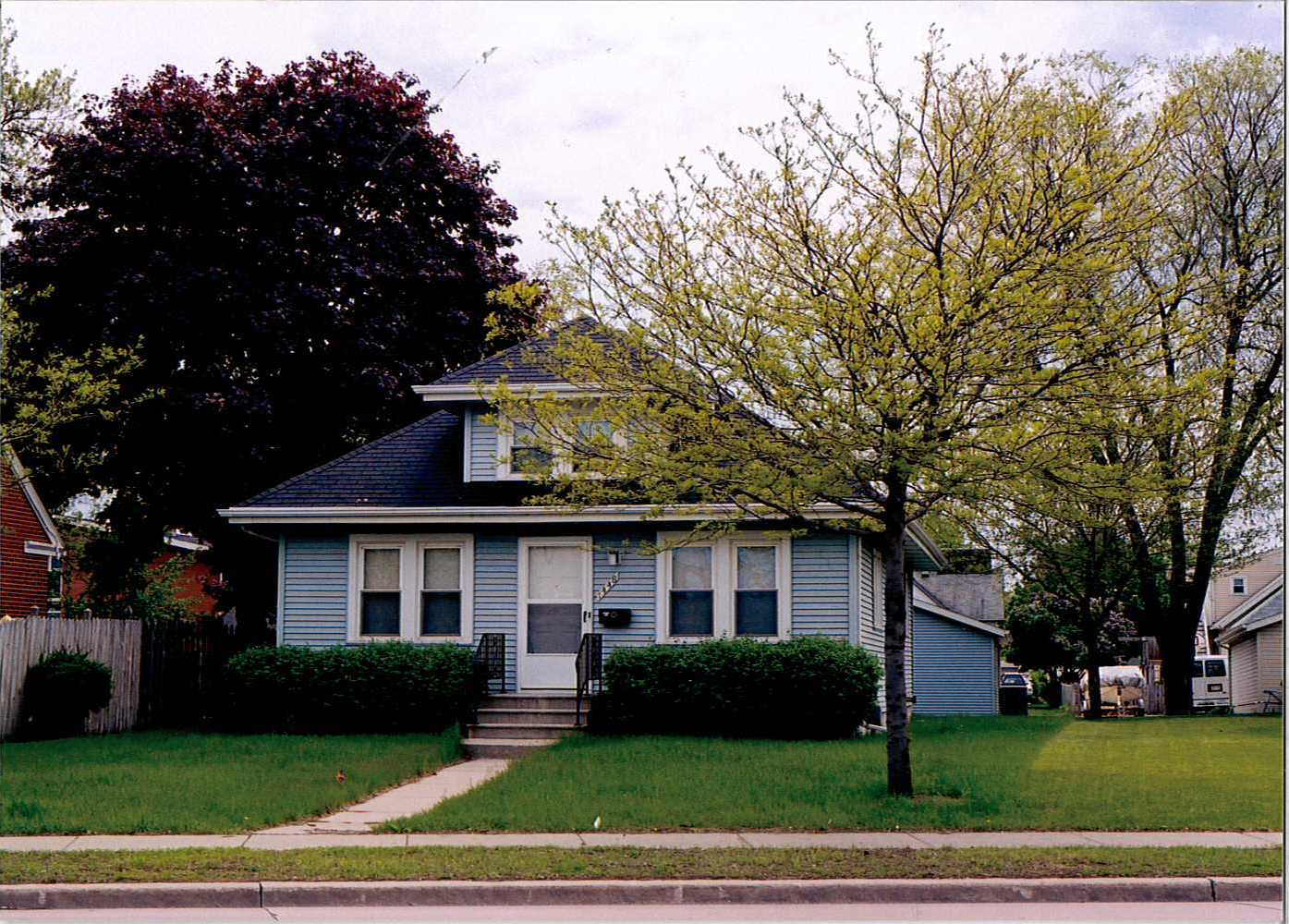 The residential house located at 1448 University Avenue.